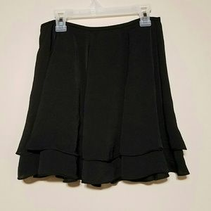 silence + noise women's size 2 mini skirt black